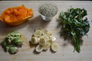 Tropical Smoothies - Papaya Ingredients
