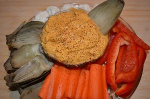 Paleo Hummus with Butternut Squash