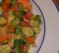 Baked Salmon with Tropical Relish