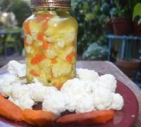 Fermented Cauliflower with Turmeric