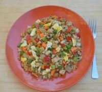Chicken-Fried-Cauliflower-Rice